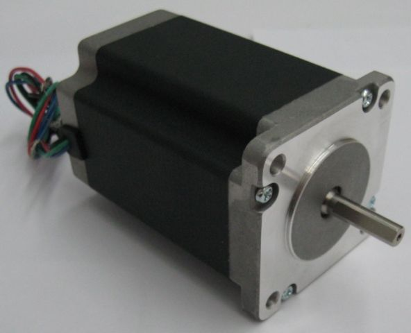 387 Oz-in NEMA 24 Stepper Motor (Dual Shaft)